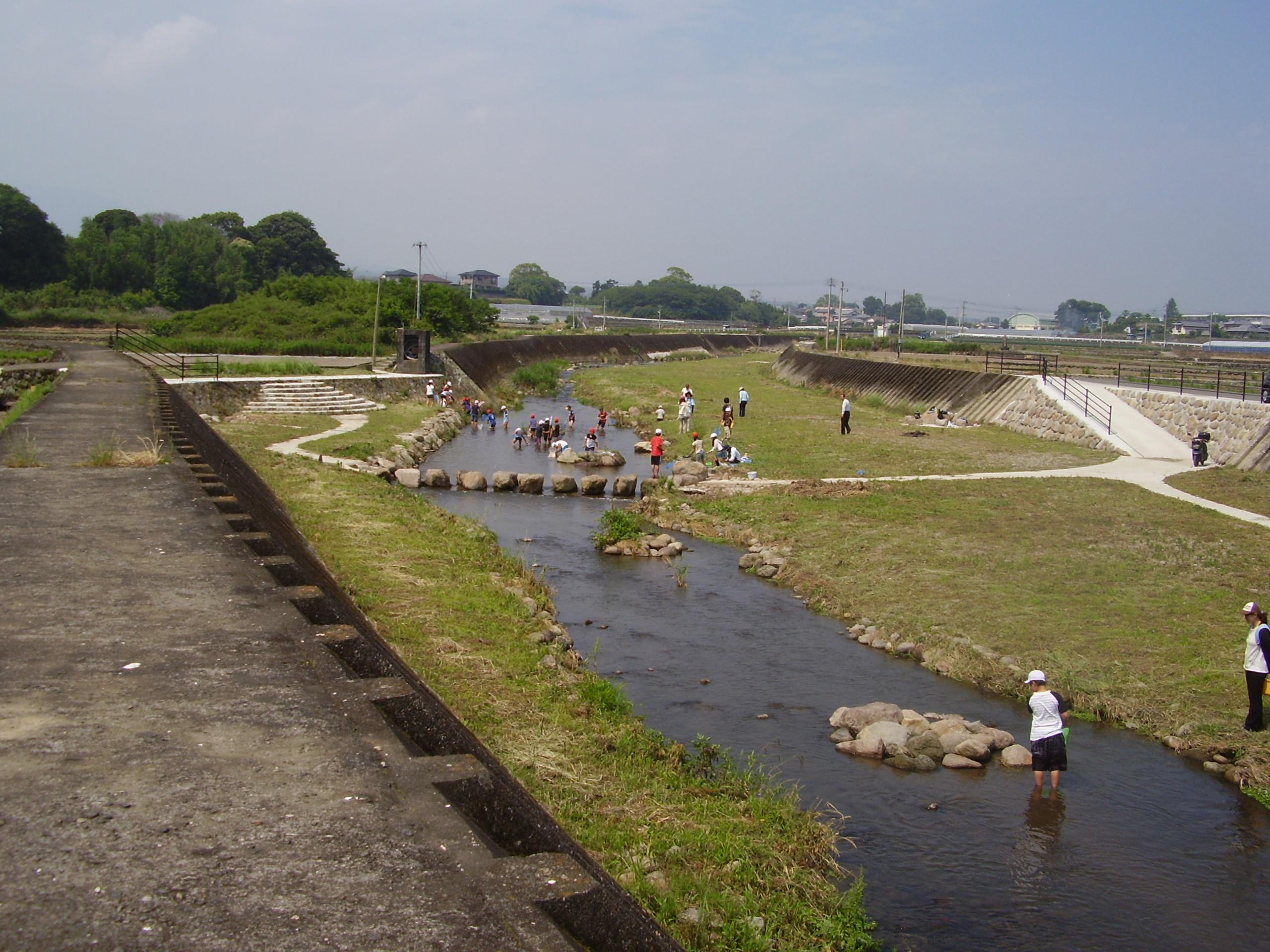 河川の社会資本整備